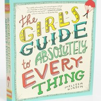 'The Girl's Guide to Absolutely Everything' Book | Nordstrom