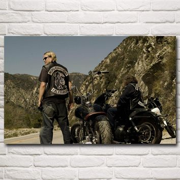 SONS OF ANARCHY Jax Teller TV Series Art Silk Poster Print Home Wall Decor Pictures 12x19 15x24 19x30 22x35 Inches Free Shipping