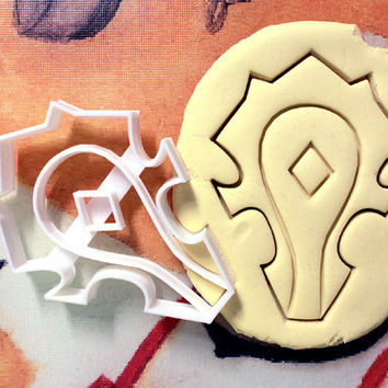 Horde World of Warcraft Cookie Cutter - Made from Biodegradable Material