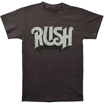 Rush Men's  Original Fitted Tee Slim Fit T-shirt Heather Charcoal