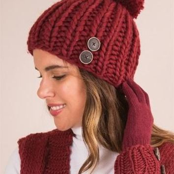 Simply Noelle Fireside Hat