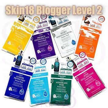 Blogger's Pack (Level 2) SKINLOVERS 2 steps Pure Essence Mask x 2pcs