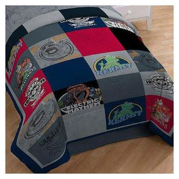 Disney Muppets Vintage Silhouettes Twin-Single Bed Comforter
