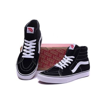 Original Vans Classic SK8-Hi Men Women Shoes Sneakers Unisex Sport Shoes