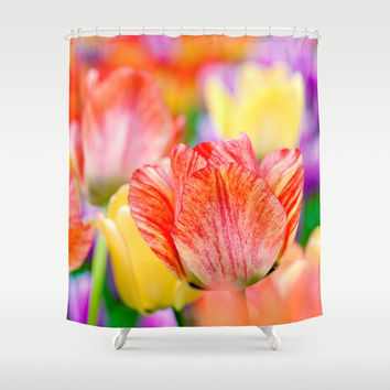 Magic of spring Shower Curtain by Digital2real