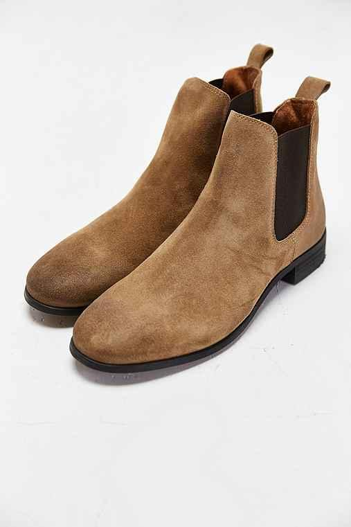 e35a7e815629 Shoe The Bear Suede Chelsea Boot- Tan from Urban Outfitters