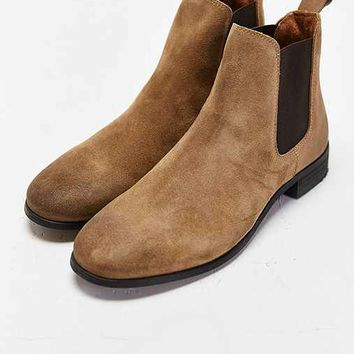 Shoe The Bear Suede Chelsea Boot- Tan