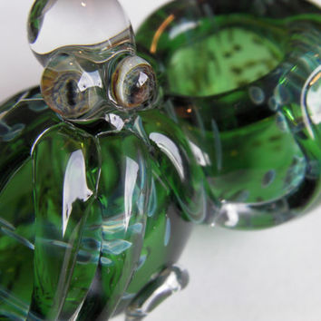 Glass pipe          Green Flash !!!