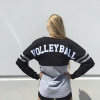 Spirit Volleyball Thick Cotton Oversized Jersey