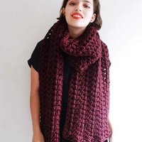 Jenny Rose Scarlet Runaway Scarf- Assorted One