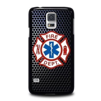 emt ems fire department samsung galaxy s5 case cover  number 2