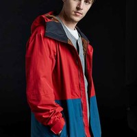 The North Face Turn It Up Colorblocked Jacket- Red