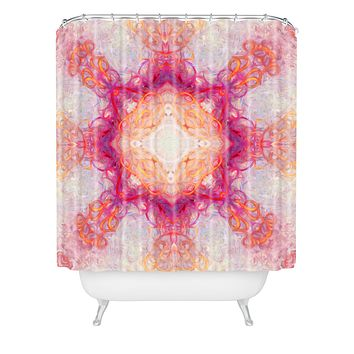Jacqueline Maldonado Fire 1 Shower Curtain