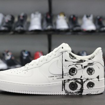 qiyif Supreme CDG Nike Air Force 1