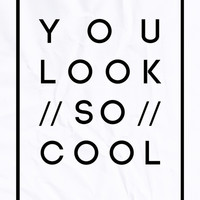 YOU LOOK SO COOL Art Print by Aline Monteiro | Society6