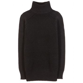 the row - rivington camel hair and cashmere sweater