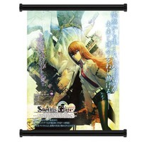 "Steins; Gate Anime Game Fabric Wall Scroll Poster (16"" x 20"") Inches"