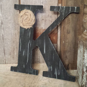 best distressed wooden letters decor products on wanelo