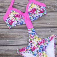 Feeling Tropical Floral Print Monokini
