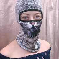 Cats Against Catcalls Cat Face Balaclava