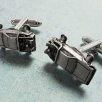 Hovercar Cuff Links, inspired by the delorean from back to the future