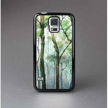 The Watercolor Glowing Sky Forrest Skin-Sert Case for the Samsung Galaxy S5