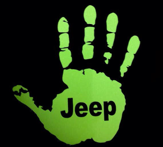 Jeep Wave Custom Decal From Monkeygripsparacord On Etsy Jeep
