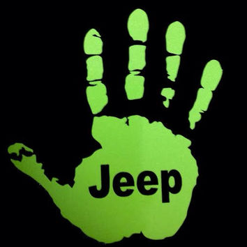 Jeep Wave Custom Decal