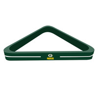 Green Bay Packers NFL Billiard Ball Triangle Rack