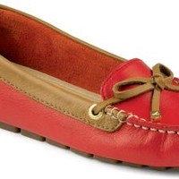 Sperry Top-Sider Katharine 1-Eye Driver Red/Cognac, Size 7.5M  Women's Shoes