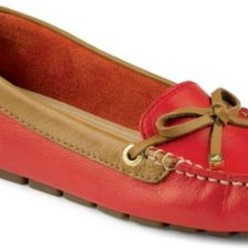 Sperry Top-Sider Katharine 1-Eye Driver Red/Cognac, Size 6M  Women's Shoes