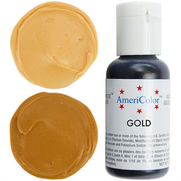 Gold Gel Paste Food Coloring