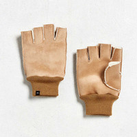 Fingerless Faux Shearling Glove | Urban Outfitters
