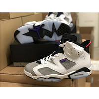 "2019 Air Jordan 6 VI Retro ""Flint"" Men Sneaker Shoe Size US 8-13"