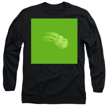 The Glowing Jelly Fish By Adam Asar 8 - Long Sleeve T-Shirt