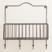 Galvanized Ashton Single Wall Basket - World Market