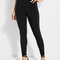 Destiny Shirred Leggings at Guess