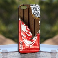 KitKat Chocolate, Print on Hard Cover iPhone 5 Black Case