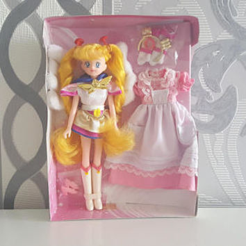 Eternal Sailor Moon Figure Doll World Version with fluffy Wings Anime Manga Rare