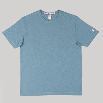 Todd Snyder + Champion Crewneck T-shirt Naval Blue