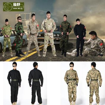 Good Quality Army Sniper Camouflage Clothing Military USMC Tactical Hunting Shooting Suit Army Traning Uniform
