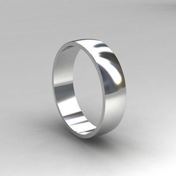 Ready to ship ring size 7.5 to 8, Palladium ring, men's wedding band, simple wedding band, men palladium ring, commitment ring, handmade