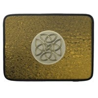 Gold Celtic Knot Macbook Sleeve Sleeve For MacBooks
