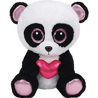 Claire's Accessories TY Beanie Boo Small Cutie Pie the Panda