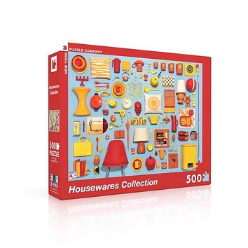 New York Puzzle Company - Housewares Collection Puzzle
