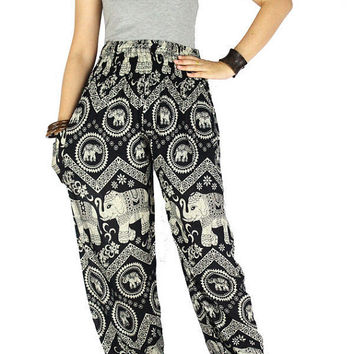 Hippie clothes Gypsy pants  Elephant pants Palazzo pants Thai pants Harem pants Hippie pants Elephant clothes