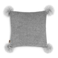 "UGG® Snow Creek Two Tone Decorative Pillow, 20"" x 20"" 