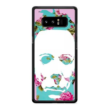 Floral Michael Myers Pop Art Samsung Galaxy Note 8 Case