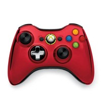 Xbox 360 Wireless Controller - Red (Xbox 360)