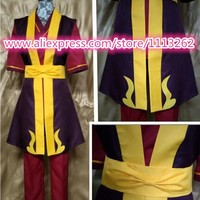 Movie Coser-5 High Quality Prince Zuko In Avatar: The Last Airbender Cosplay Costume